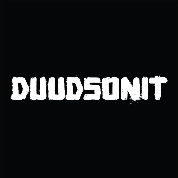 Duudsonit logo mustalla taustalla