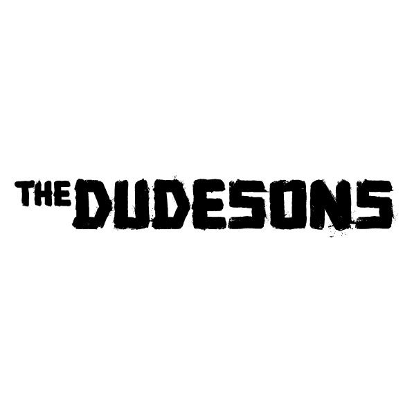 The Dudesons logo 1-row white background